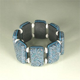 P218 persian carpet stretchy bracelet