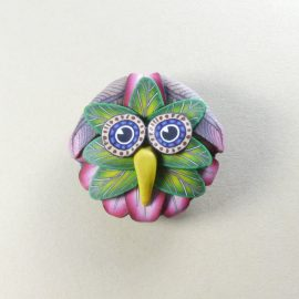 P312 owl brooch