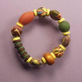 P323autumn colours stretch bracelet