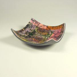 P331 dish with rose pattern. £12