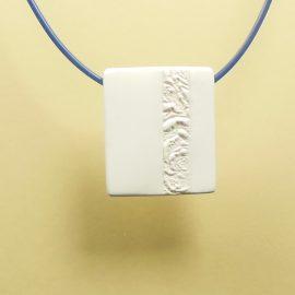 S411 white minimal pendant 2. £21